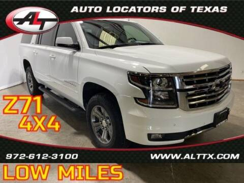 2018 Chevrolet Suburban for sale at AUTO LOCATORS OF TEXAS in Plano TX