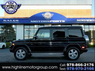2009 Mercedes-Benz G-Class for sale at Highline Group Motorsports in Lowell MA