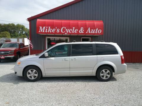 2010 Dodge Grand Caravan for sale at MIKE'S CYCLE & AUTO in Connersville IN