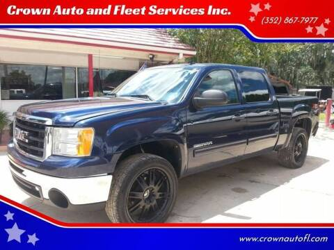 2011 GMC Sierra 1500 for sale at Crown Auto and Fleet Services Inc. in Ocala FL