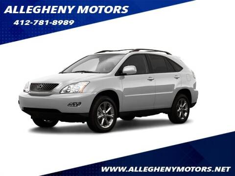 2009 Lexus RX 350 for sale at Allegheny Motors in Pittsburgh PA