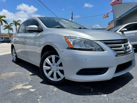 2015 Nissan Sentra for sale at Kaler Auto Sales in Wilton Manors FL
