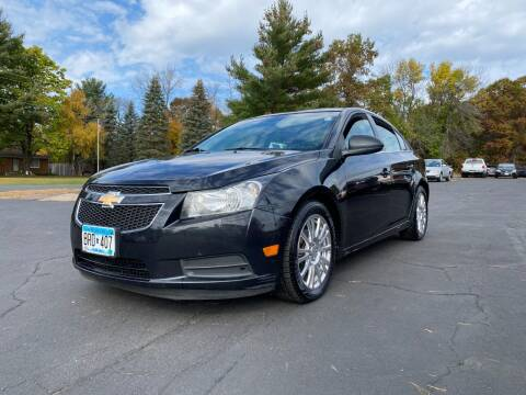 2012 Chevrolet Cruze for sale at Northstar Auto Sales LLC in Ham Lake MN