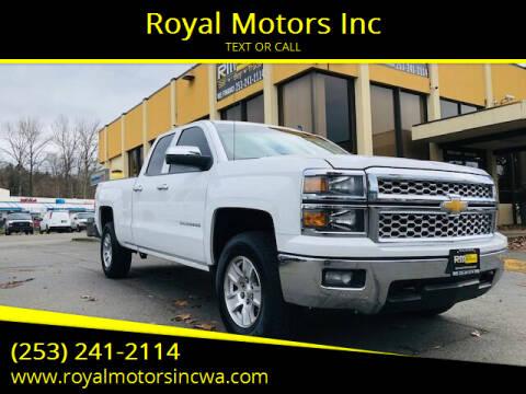 2014 Chevrolet Silverado 1500 for sale at Royal Motors Inc in Kent WA