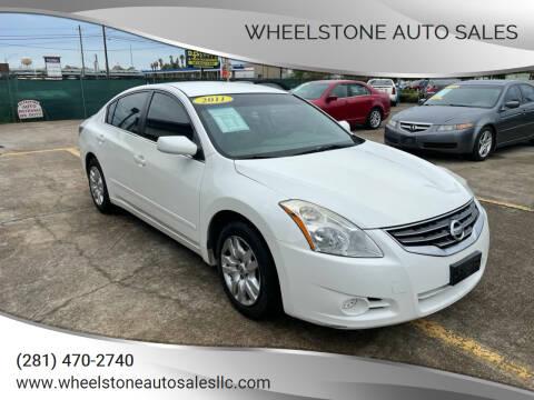 2011 Nissan Altima for sale at Wheelstone Auto Sales in La Porte TX