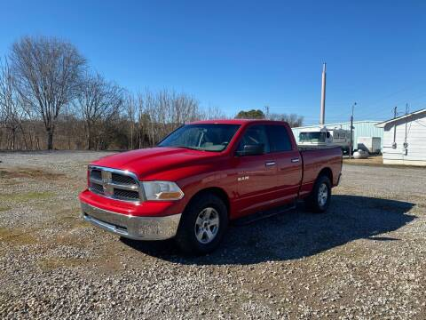 2010 Dodge Ram Pickup 1500 for sale at Tennessee Valley Wholesale Autos LLC in Huntsville AL