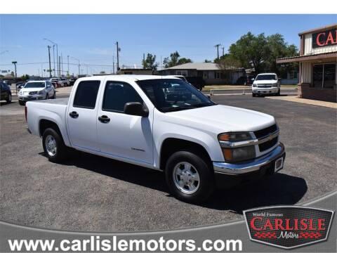 2005 Chevrolet Colorado for sale at Carlisle Motors in Lubbock TX