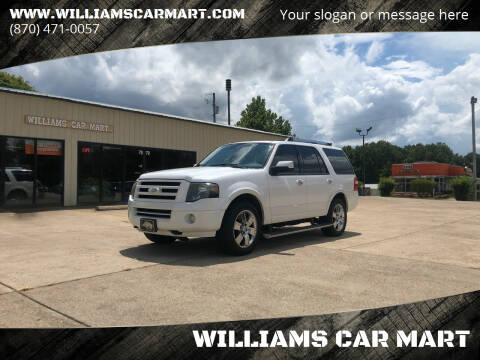2010 Ford Expedition for sale at WILLIAMS CAR MART in Gassville AR