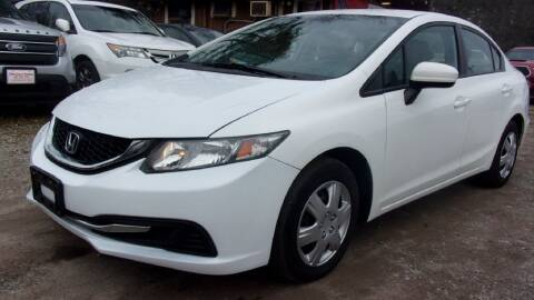 2015 Honda Civic for sale at Select Cars Of Thornburg in Fredericksburg VA