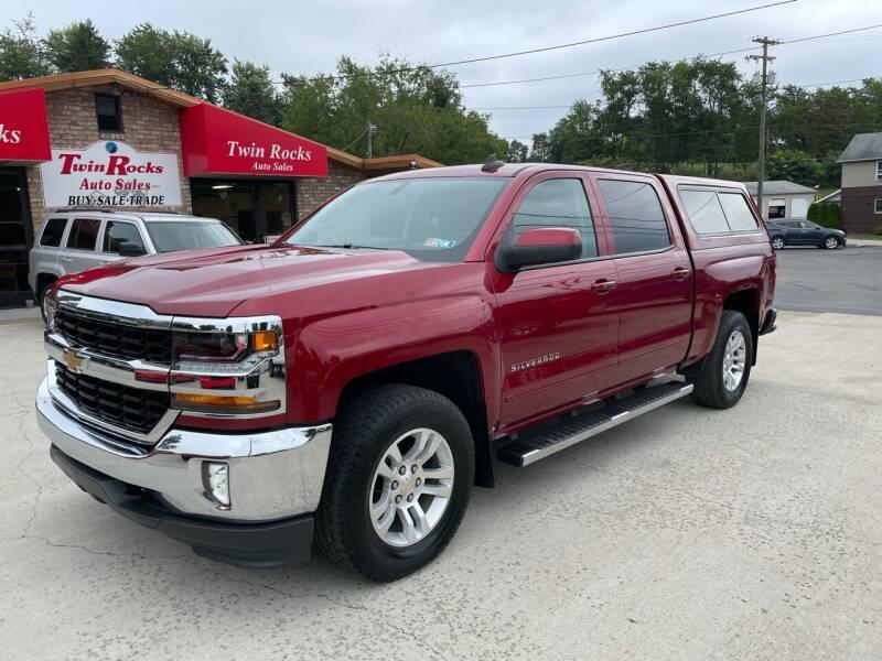 2018 Chevrolet Silverado 1500 for sale at Twin Rocks Auto Sales LLC in Uniontown PA