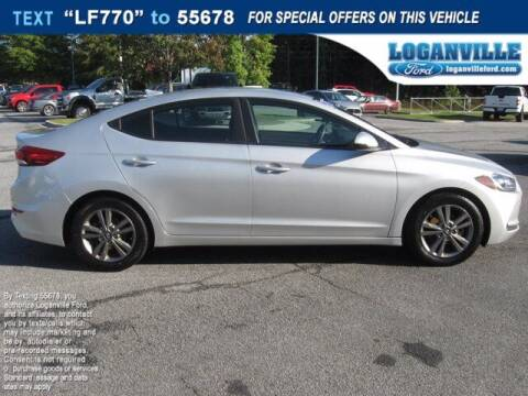 2018 Hyundai Elantra for sale at Loganville Quick Lane and Tire Center in Loganville GA