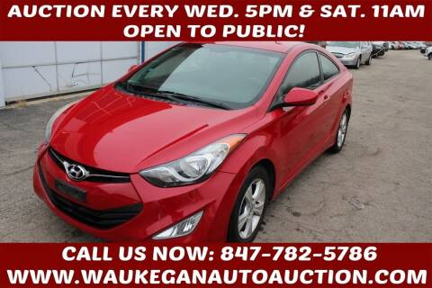 2013 Hyundai Elantra Coupe for sale at Waukegan Auto Auction in Waukegan IL