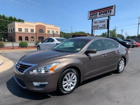 2015 Nissan Altima for sale at Auto Sports in Hickory NC