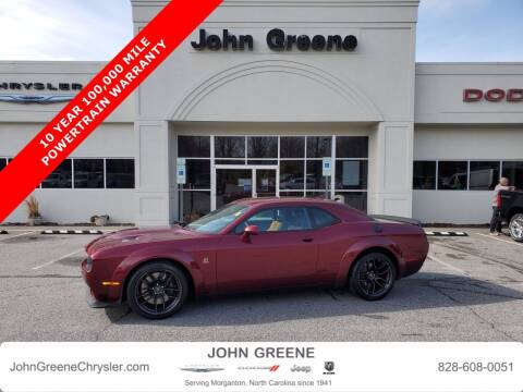2020 Dodge Challenger for sale at John Greene Chrysler Dodge Jeep Ram in Morganton NC