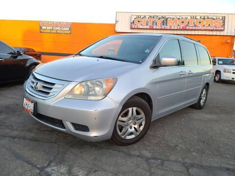 2010 Honda Odyssey for sale at City Motors in Hayward CA