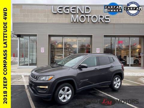 2018 Jeep Compass for sale at Legend Motors of Waterford in Waterford MI