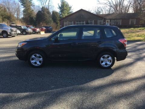 2015 Subaru Forester for sale at Lou Rivers Used Cars in Palmer MA