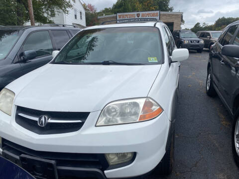 2003 Acura MDX for sale at Whiting Motors in Plainville CT