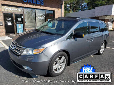 2013 Honda Odyssey for sale at Michael D Stout in Cumming GA