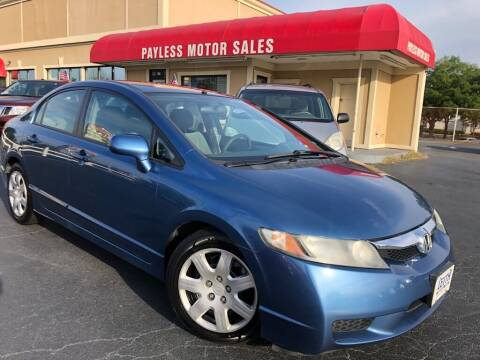 2010 Honda Civic for sale at Payless Motor Sales LLC in Burlington NC