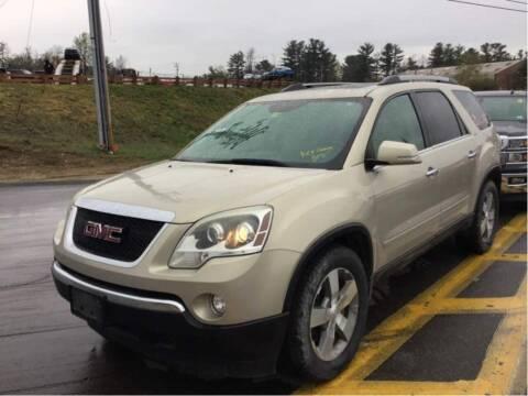 2011 GMC Acadia for sale at Maxima Auto Sales in Malden MA