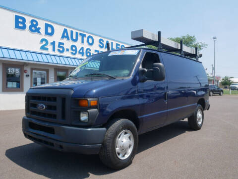 2012 Ford E-Series Cargo for sale at B & D Auto Sales Inc. in Fairless Hills PA