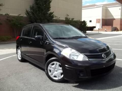 2012 Nissan Versa for sale at CORTEZ AUTO SALES INC in Marietta GA
