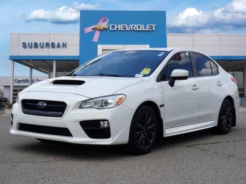 2017 Subaru WRX for sale at Suburban Chevrolet of Ann Arbor in Ann Arbor MI