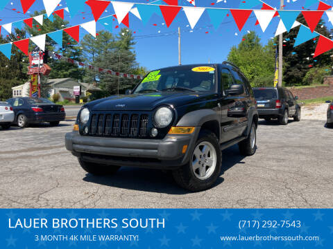 2007 Jeep Liberty for sale at LAUER BROTHERS SOUTH in York PA