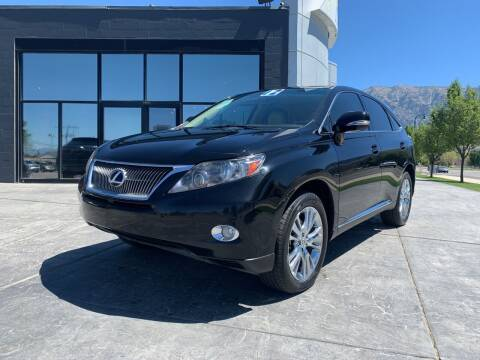 2012 Lexus RX 450h for sale at Berge Auto in Orem UT