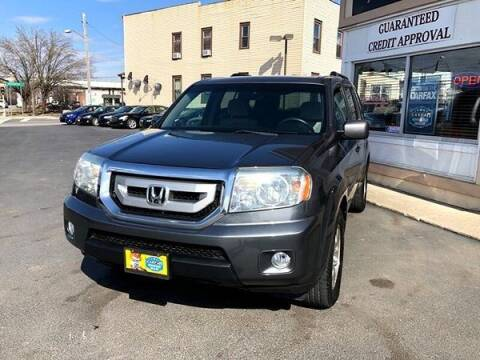 2010 Honda Pilot for sale at ADAM AUTO AGENCY in Rensselaer NY