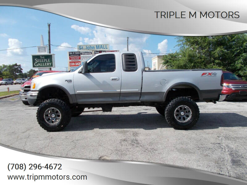 2002 Ford F-150 for sale at Triple M Motors in Saint John IN