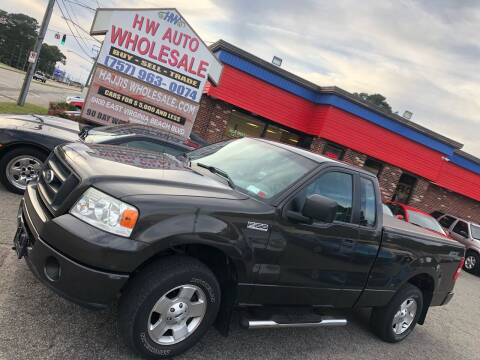 2006 Ford F-150 for sale at HW Auto Wholesale in Norfolk VA