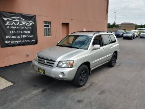 2007 Toyota Highlander for sale at ENZO AUTO in Parma OH