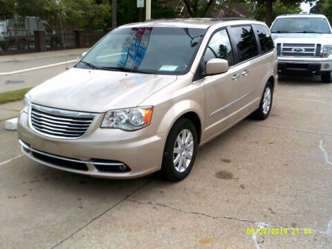2014 Chrysler Town and Country for sale at Fred Elias Auto Sales in Center Line MI