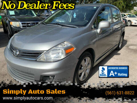 2011 Nissan Versa for sale at Simply Auto Sales in Palm Beach Gardens FL