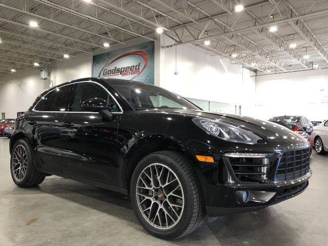 2015 Porsche Macan for sale at Godspeed Motors in Charlotte NC