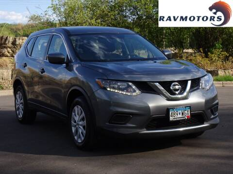 2016 Nissan Rogue for sale at RAVMOTORS in Burnsville MN