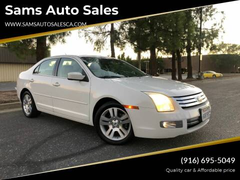 2008 Ford Fusion for sale at Sams Auto Sales in North Highlands CA