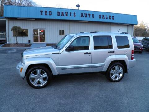 2012 Jeep Liberty for sale at Ted Davis Auto Sales in Riverton WV