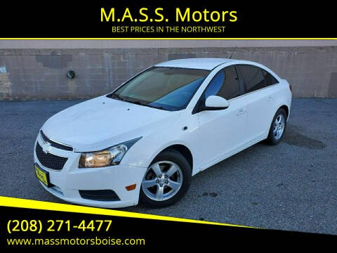 2011 Chevrolet Cruze for sale at M.A.S.S. Motors in Boise ID