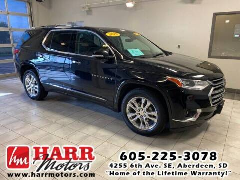 2018 Chevrolet Traverse for sale at Harr's Redfield Ford in Redfield SD