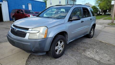 2005 Chevrolet Equinox for sale at M & C Auto Sales in Toledo OH