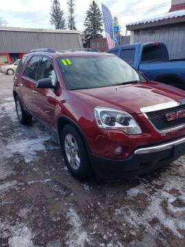 2011 GMC Acadia for sale at WB Auto Sales LLC in Barnum MN