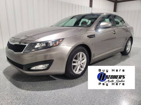 2013 Kia Optima for sale at Hatcher's Auto Sales, LLC - Buy Here Pay Here in Campbellsville KY