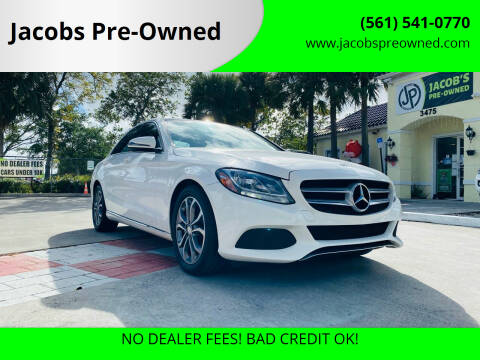 2016 Mercedes-Benz C-Class for sale at Jacobs Pre-Owned in Lake Worth FL
