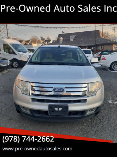 2010 Ford Edge for sale at Pre-Owned Auto Sales Inc in Salem MA