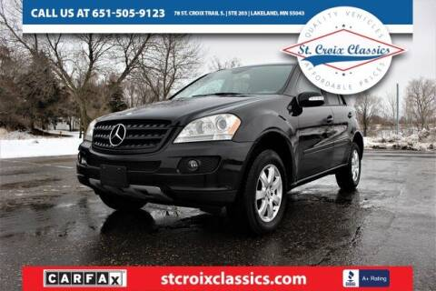 2006 Mercedes-Benz M-Class for sale at St. Croix Classics in Lakeland MN