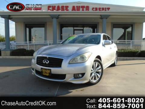 2012 Infiniti M37 for sale at Chase Auto Credit in Oklahoma City OK