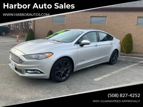 2018 Ford Fusion Hybrid for sale at Harbor Auto Sales in Hyannis MA